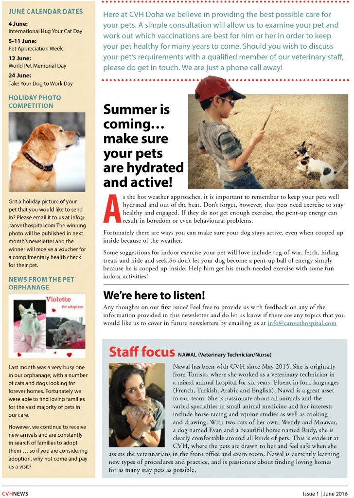CVH_Newsletter_June-2